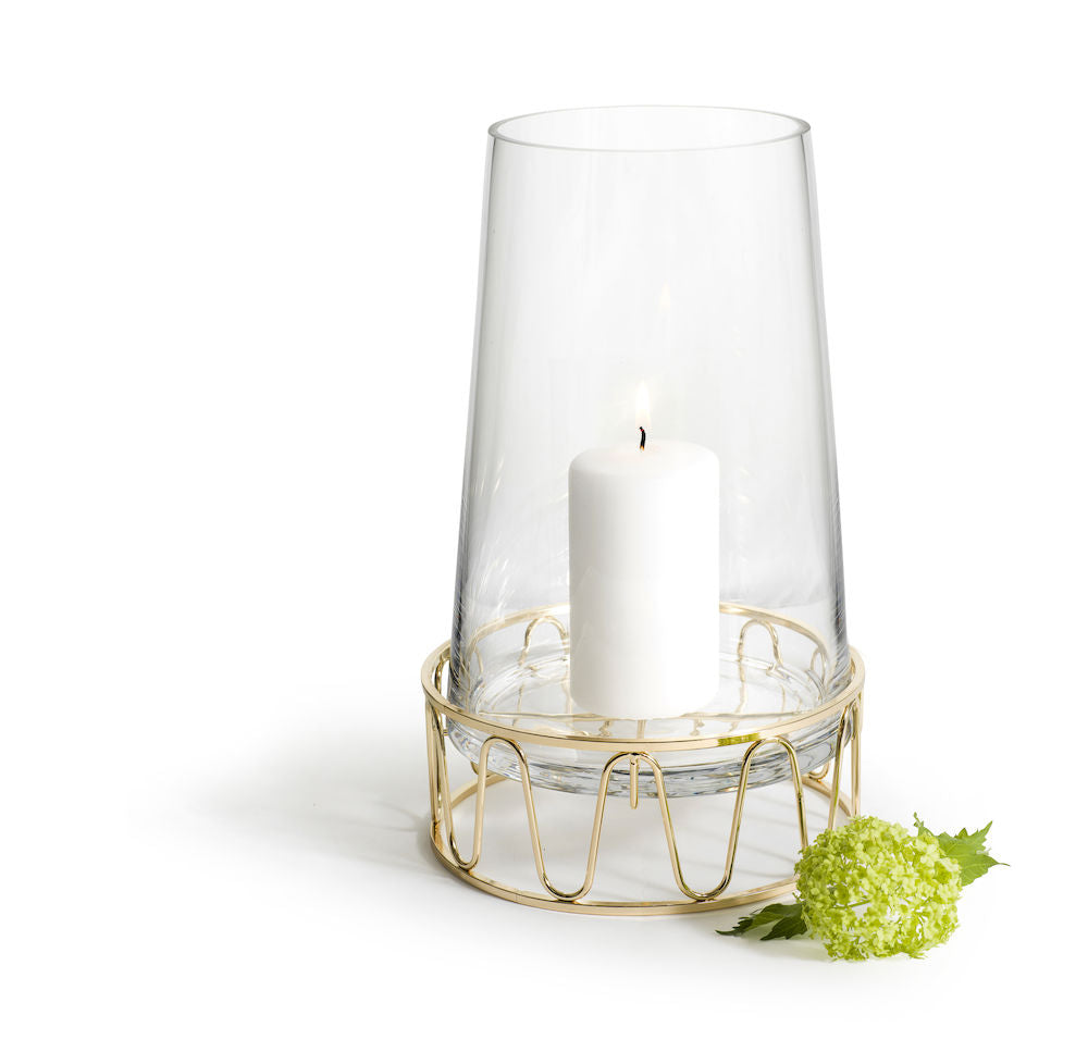 SAGAFORM | GIFTSET LANTERN WITH PILLAR CANDLE | 5003451