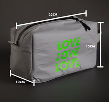 Load image into Gallery viewer, VM | Carry-All goods organizer pouch | Large (LOVE)