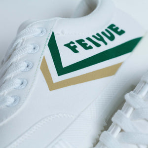 DAFU | Lucky White Green/ Gold LO