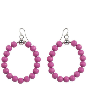 AARIKKA | Sade Korvakorut 68/H (Earrings) | Pink & Silver