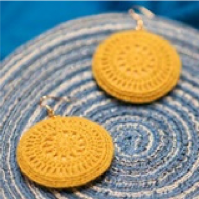 SHOKAY | Earrings | Yellow