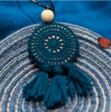 SHOKAY | Necklace | Dark Blue