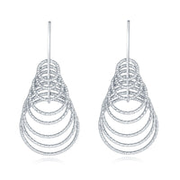 EJJ | ALEXA EARRINGS | EA258 (SILVER)
