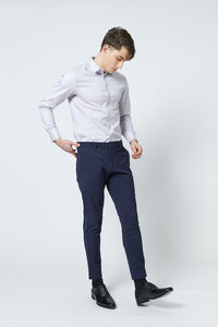 SHOKAY | Shirt| Men's Slim Fit Transitional Cotton (Grey)
