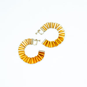 CABO | Mermaid's Tail Hoop Earrings | Gold
