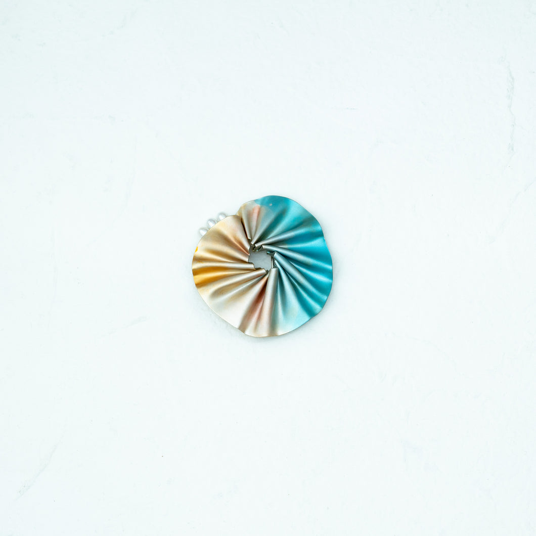 CABO | Mermaid's Tail Brooch | Blue