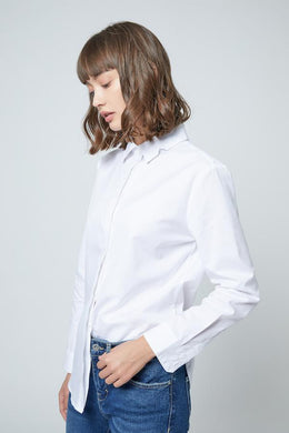 SHOKAY | SHOKAY LAB TRANSITIONAL COTTON WOMEN SLIM FIT SHIRT  (WHITE) | AW-ST-TC_AL