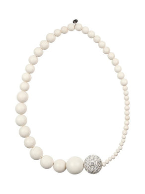 AARIKKA | Necklace | Pyorre Kaula | White
