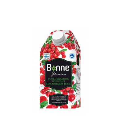 BONNE | PREMIUM LINGONBERRY JUICE 0,5L | BJ08