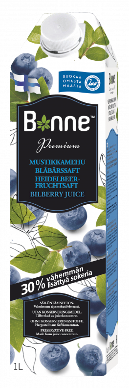 ONLINE BONNE | Bilberry Juice Drink 1L