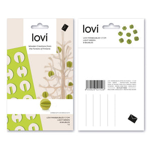 LOVI | Mini Baubles  (1.7CM x 8PCS)