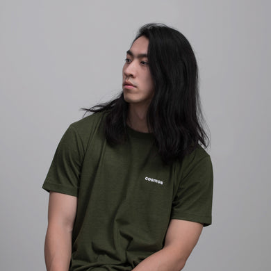COSMOS STUDIO | Bottle Tee | Olive