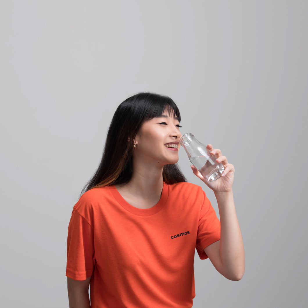 COSMOS STUDIO | Bottle Tee | Tangerine