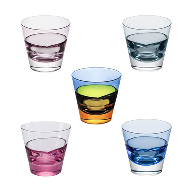 SUGAHARA | SGHR 5-glass Colour Gift Set - DUO