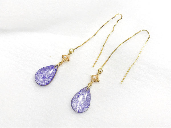 HEI THERE | ELEGANT EARRINGS (PURPLE) | H507