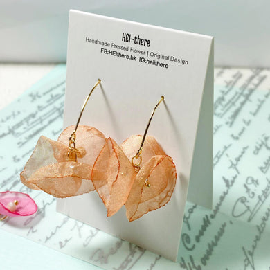 HEI THERE | Blossom Earring | Orange