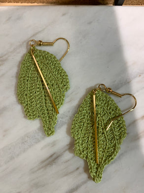 SHOKAY | Earrings | Green & Gold