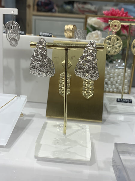 EJJ | EARRINGS (FLOWERS) | SILVER