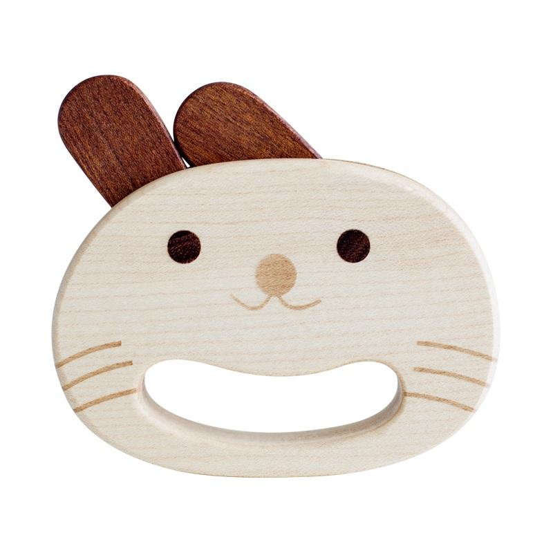LOVELY MO | Rocking Rabbit Hand Rattle