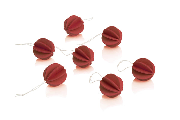 LOVI | BAUBLES (3.5CM 7PCS DARK RED) | 525111