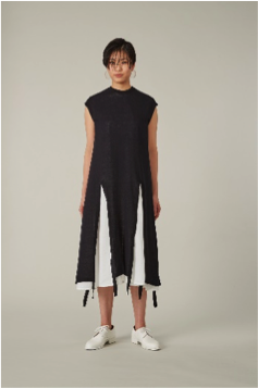 KAAM | Sleeveless Layer One Piece