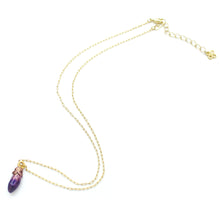 Load image into Gallery viewer, PALNART POC | Necklace | Eggplant