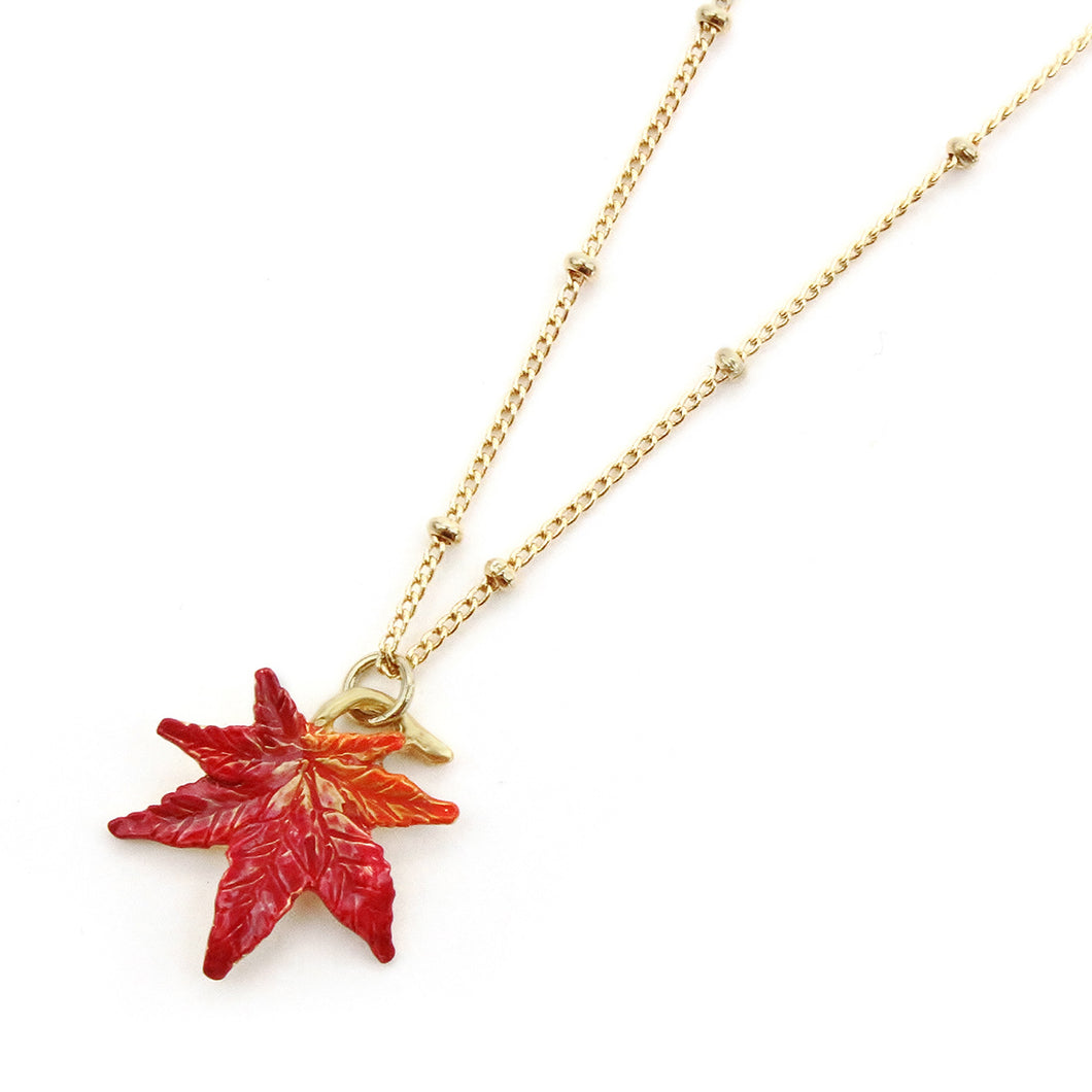 PALNART POC | Necklace | Autumn Leave Necklace