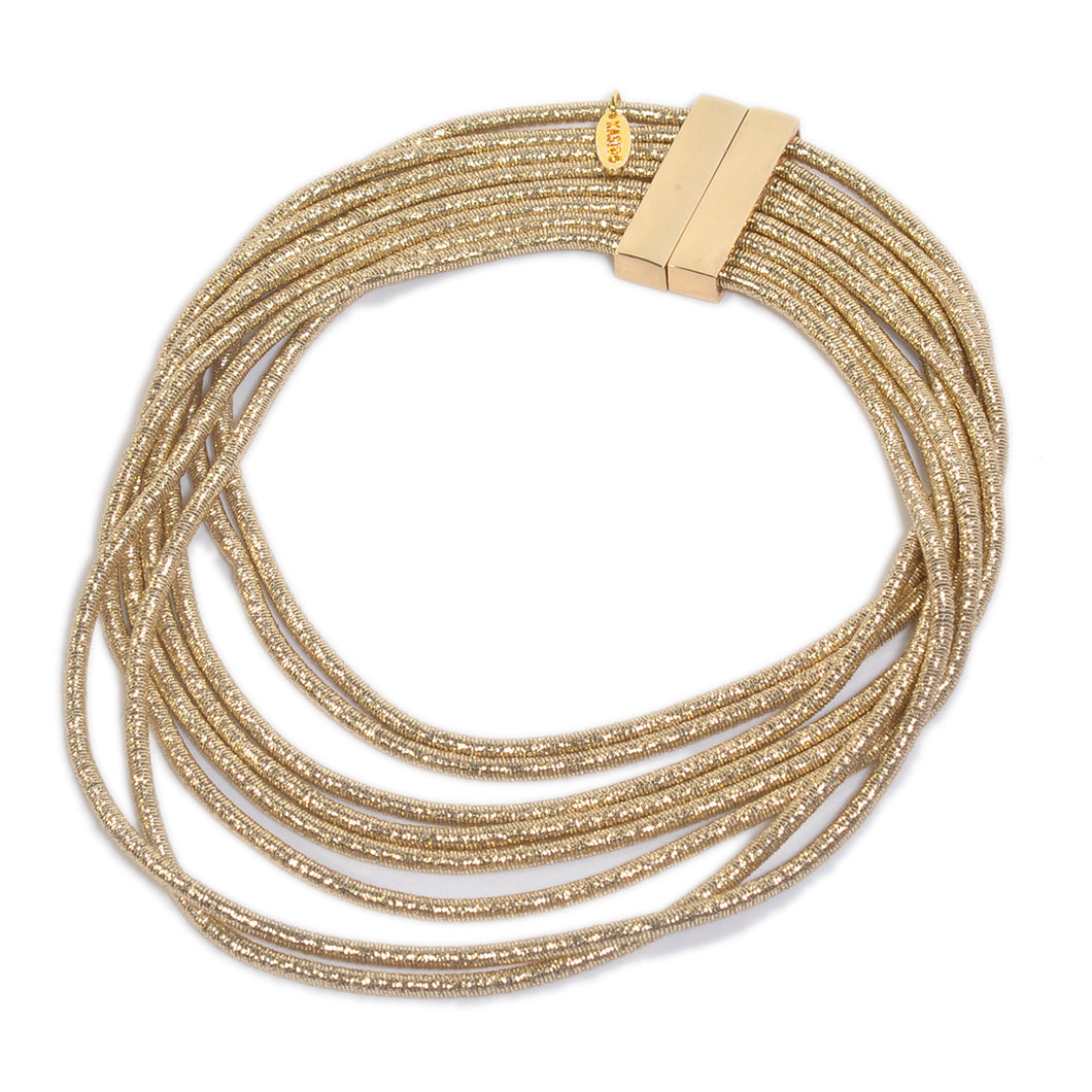 KASIDO | Necklace (Gold Glitter)