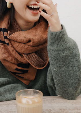 VM | Scarf | Cotton Knitting