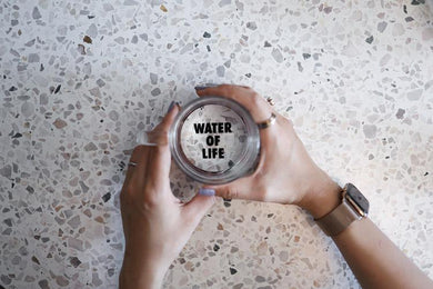 VM | Glass Cup WATER OF LIFE
