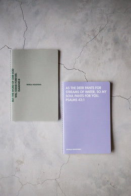 VM | Note Book Set (2in1) Purple & Green