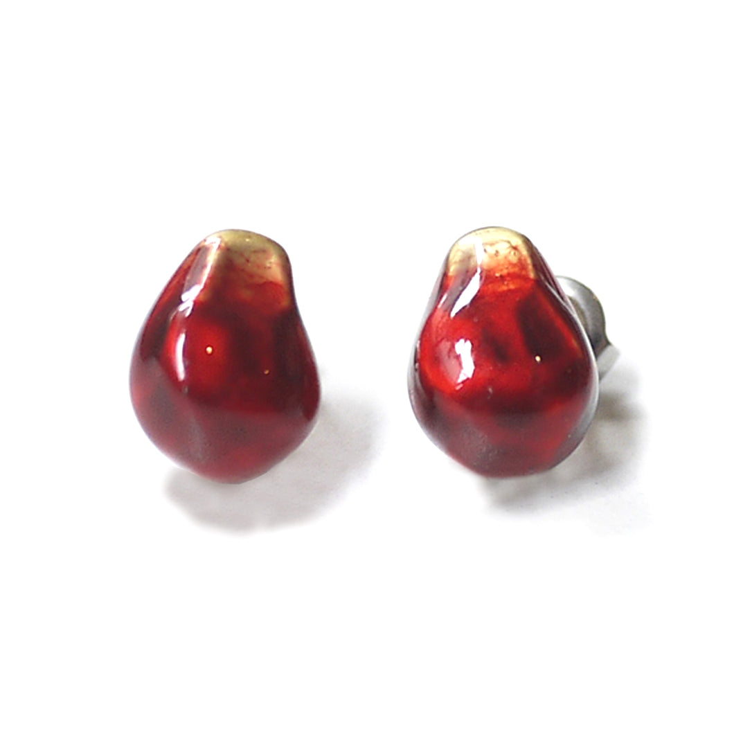 PALNART POC | Pierced Earrings | Pomegranate