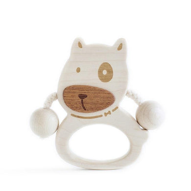 LOVELY MO |  Puppy Baby Rattle