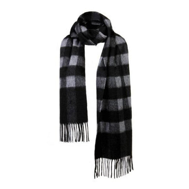SHOKAY | Scarf | Serene Buffalo Check (Stormy Day/Nocturne)