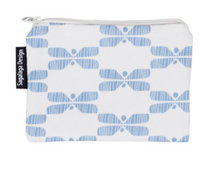 Load image into Gallery viewer, SAGALAGA | Mini Perhonen Pouch (Black/ Blue/ Gray)