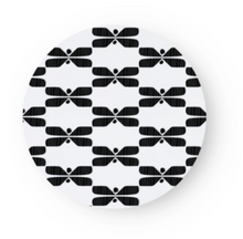 Load image into Gallery viewer, SAGALAGA | Round Perhonen Trivet (Black/ Blue/ Gray)