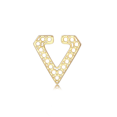 OOPS JEWELRY | Xuan Single Malt Clip-On Earring | Gold