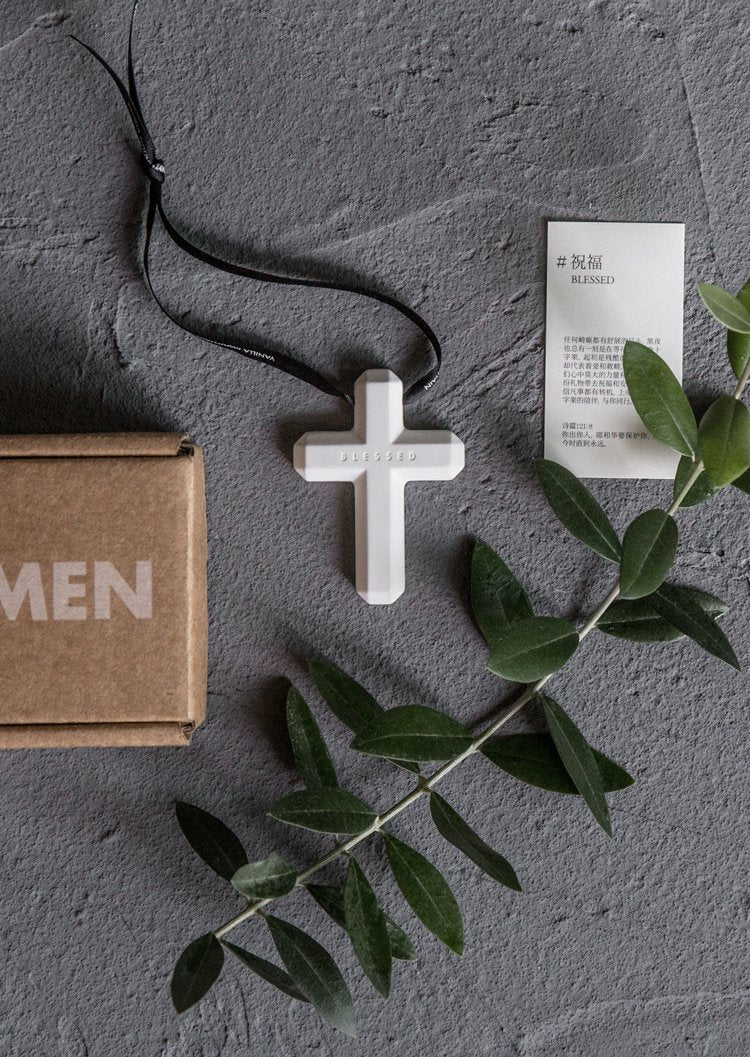 VM | Cross Hanging Scent Deco