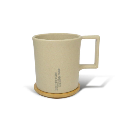 TRUEGRASSES | Water Drop Mug with Bamboo Lid