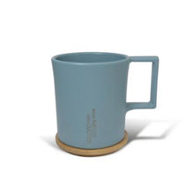 Load image into Gallery viewer, TRUEGRASSES | Water Drop Mug with Bamboo Lid