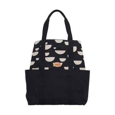PAPU | TOTE BEANS + SOLID BLACK, CREAM | AW191 66