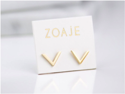 ZOAJE | VIETNAM STUDS EARRINGS | ESYG1179