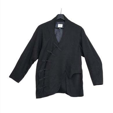 VINCENT LI | Soundwave Wool Jacket