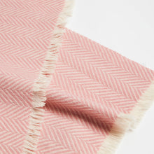 Load image into Gallery viewer, SHOKAY | Scarf | Highland Herringbone (Pink)