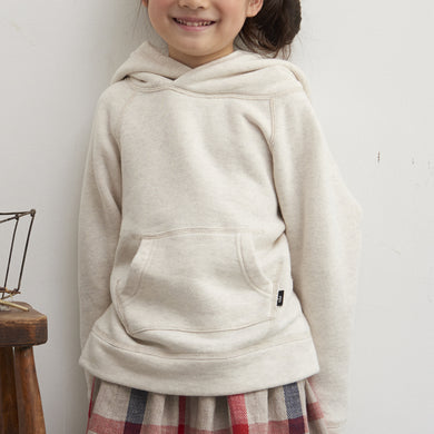 HÄP & CRAFT | Smile Cotton Fleece-lined Hoodie