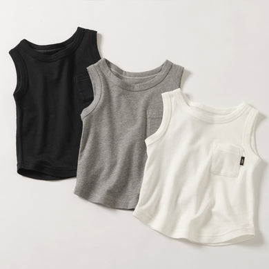 HÄP & CRAFT | Smile Cotton Smooth Tank Top