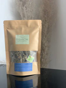 TISARÔM | Digestive Lemongrass & Cornflower Mix Kraft Bag | Digestive