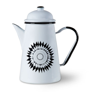 ISAK | Midnattssol Elnamel Coffee Pot