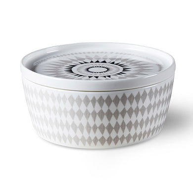 ISAK | Midnattssol Storage/ Serving Bowl with Lid