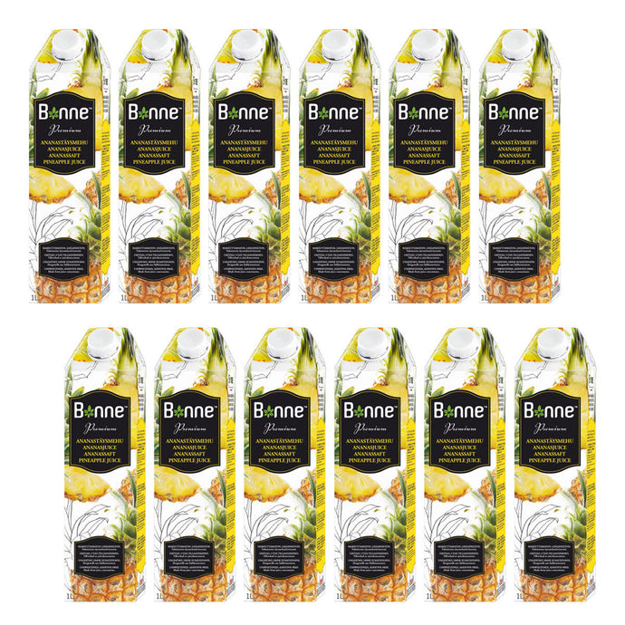 BONNE | Premium Pineapple Juice 1 L x 12 pieces